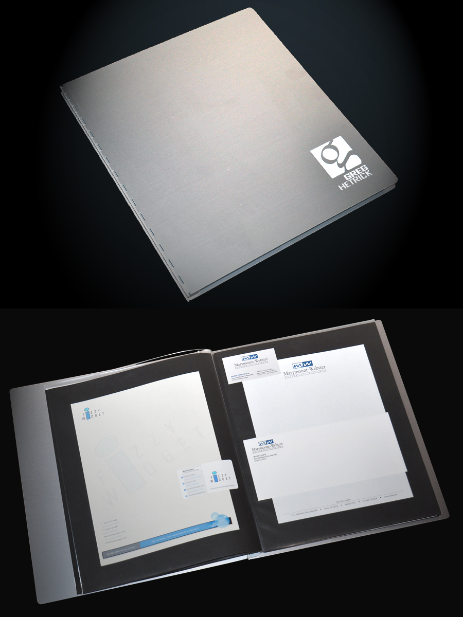 pina zangaro presentation folder - Resume Folder
