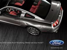 Mustang Advertisement