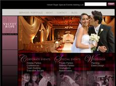 Velvet Rope Website