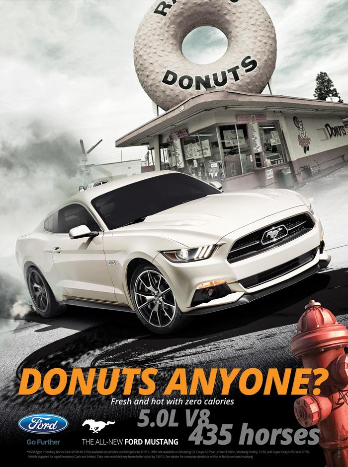 Mustang Advertisement Greg Hetrick Creative Services